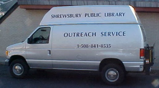 Library Outreach Service Van