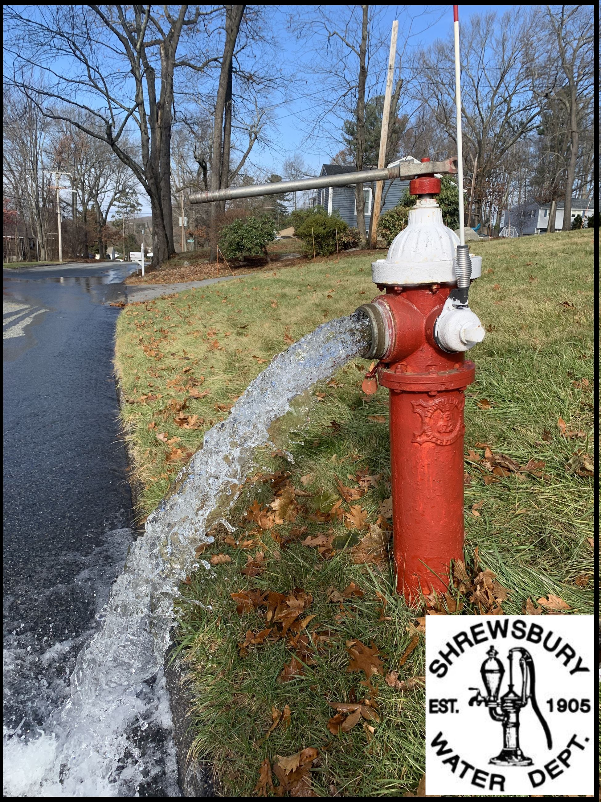 Hydrant Flushing Photo