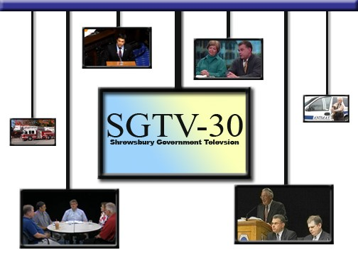 SGTV-30 - Shrewsbury Government Television with program screen shots