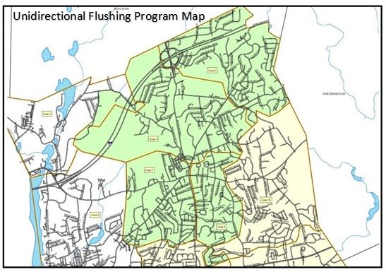 Flushing Program Zone Map