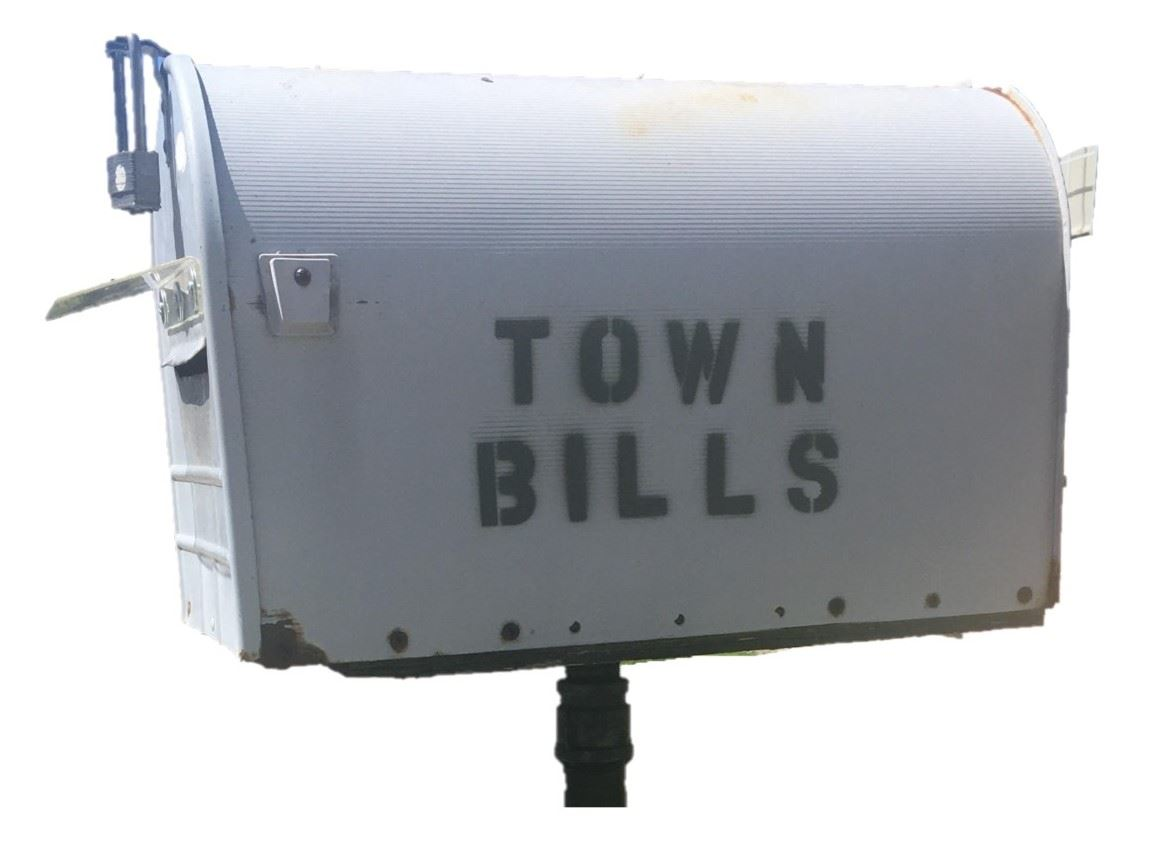 Image of Town Bills Mailbox